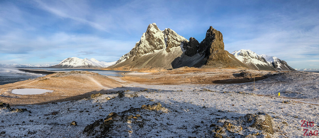 East fjords in Winter Iceland picture 1