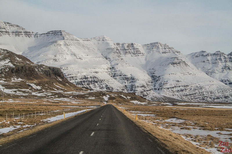 early winter of Iceland