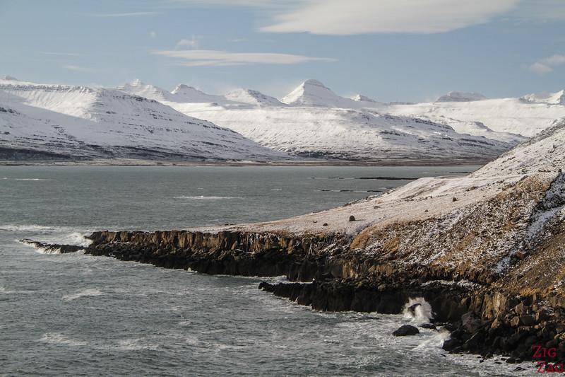 Island Ostfjorde im Winter 3