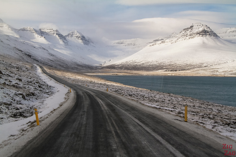 East fjords in Winter Iceland picture 4