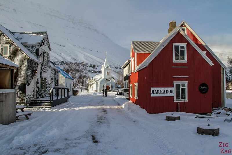 East fjords in Winter Iceland picture 7 - Seydisfjordur town
