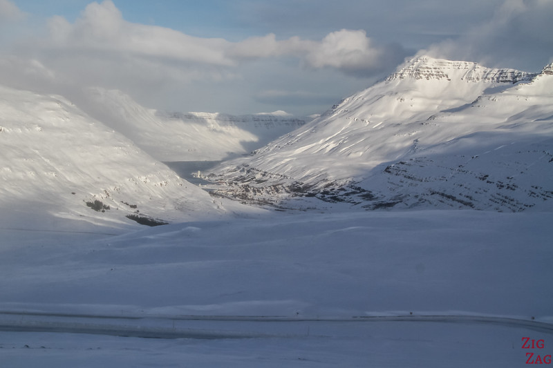 East fjords in Winter Iceland picture 6 - Seydisfjordur