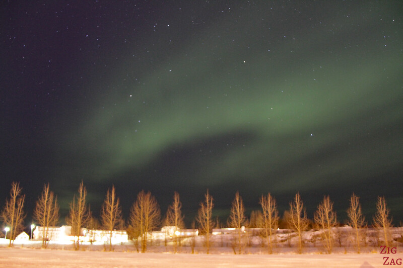 Northern light tours from Reykjavik in Winter