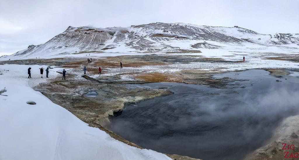 Lake Myvatn in Winter