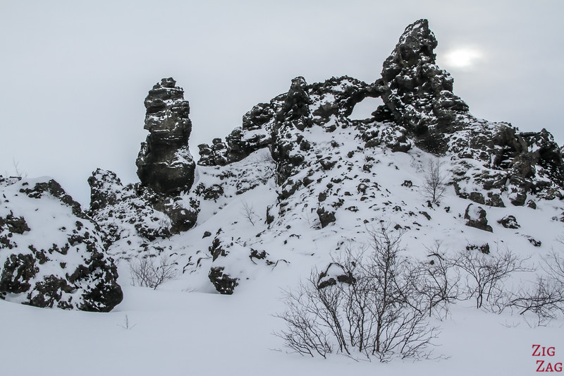 Lava formations of Dimmuborgir 2
