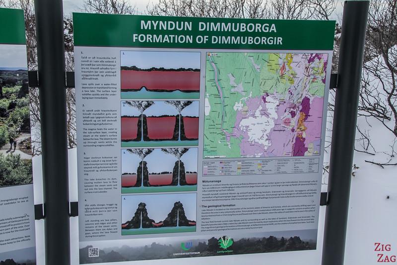 Formation de dimmuborgir - geologie
