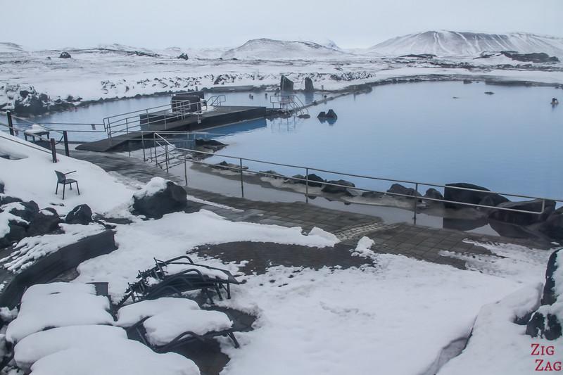 Myvatn Baths in Winter