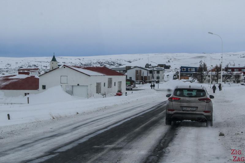 Reykjahlid in Winter