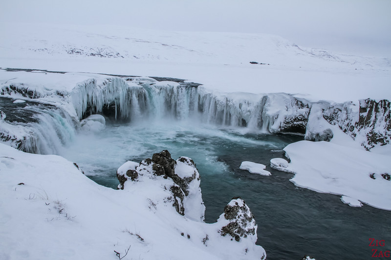 Iceland Winter Highlights - Godafoss waterfall