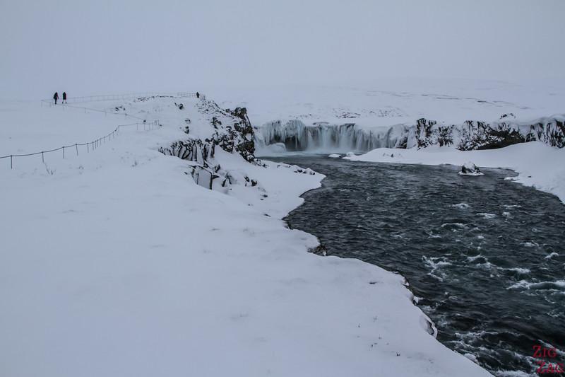 waterfall Godafoss River Skjalfandafljot 2