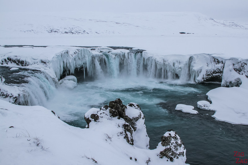 Godafoss in Winter