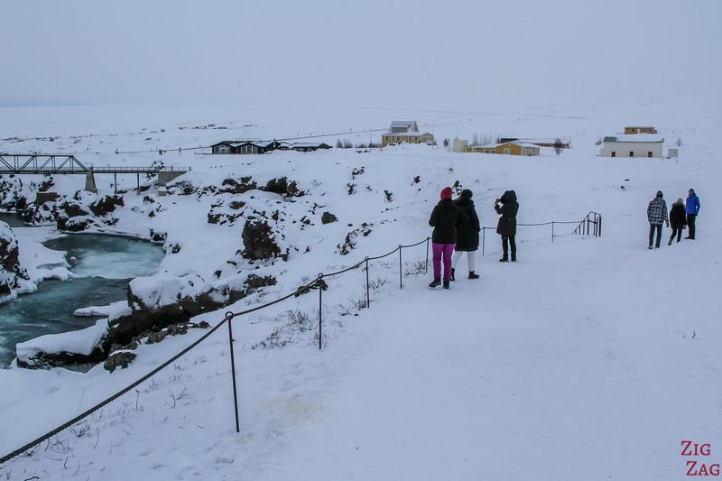 Godafoss - Winter accessibility 2