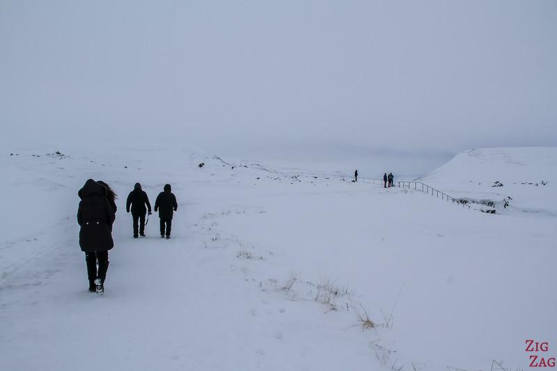 Godafoss - Winter accessibility