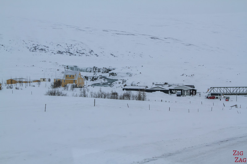 Fossholl iceland