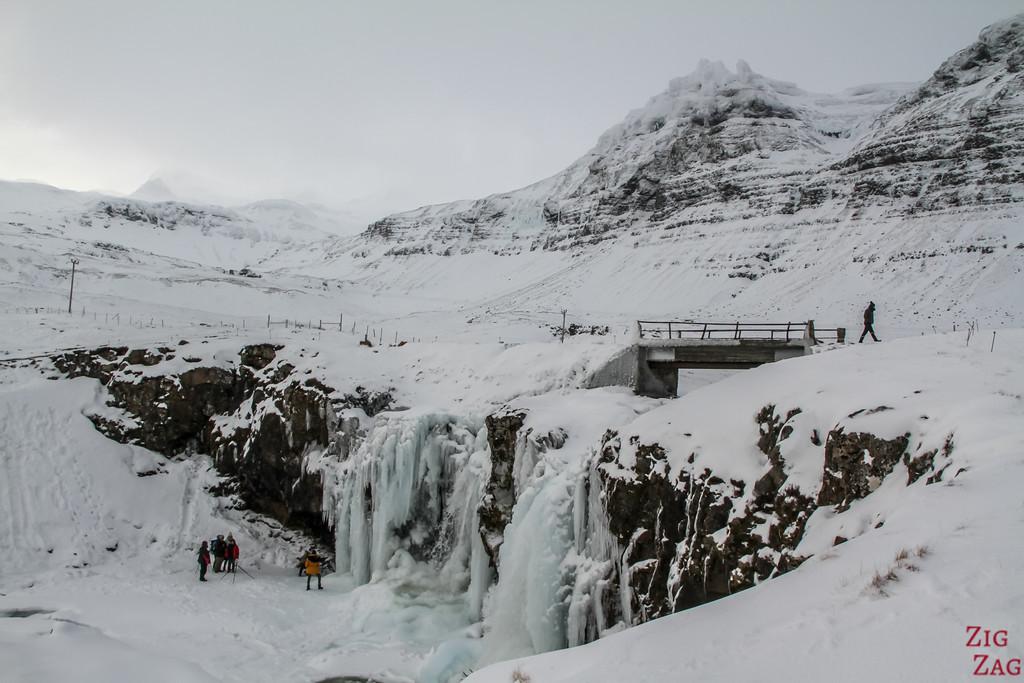 upper waterfall or Kirkjufell 2