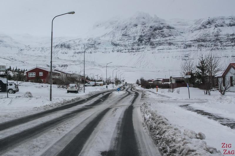 Driving to Kirkjufell - Grundarfjordur