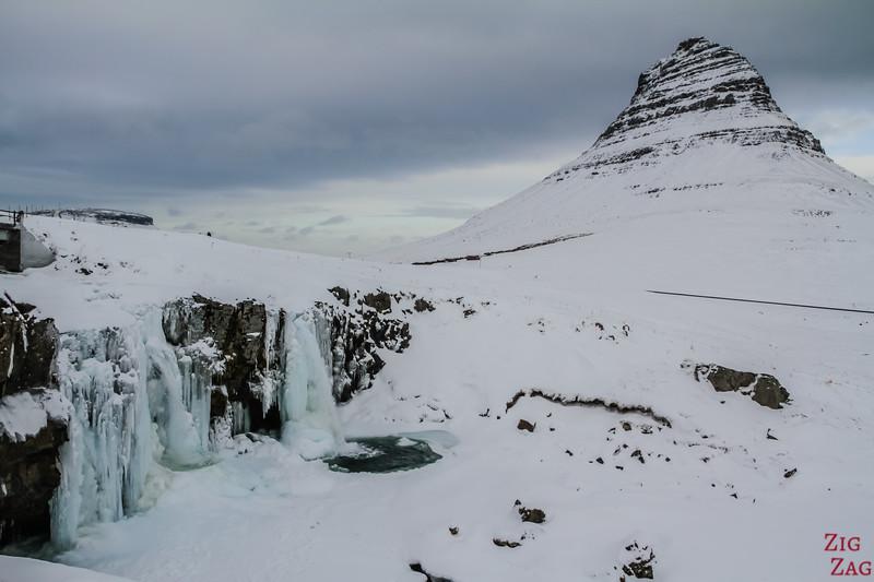 Kirkjufellsfoss in Winter 1