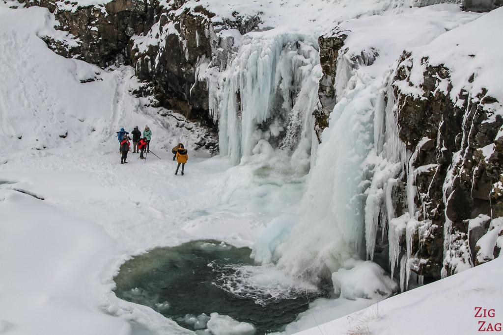 upper waterfall or Kirkjufell 1