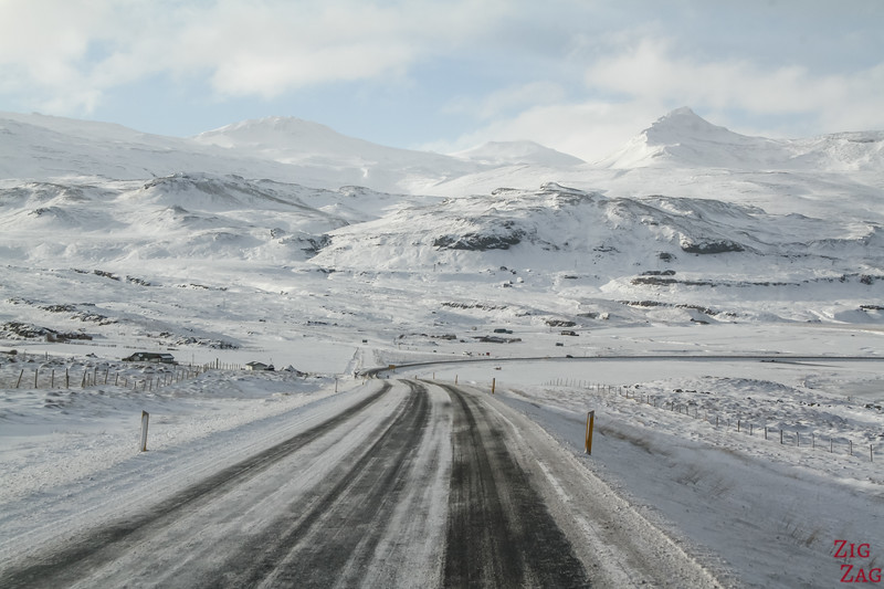 Snaefellsnes Winter driving 3