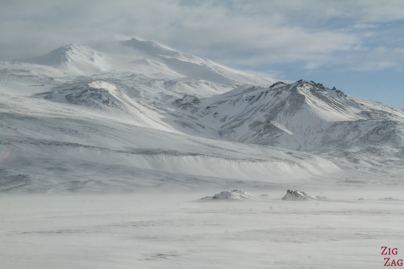 snæfellsjökull national park winter