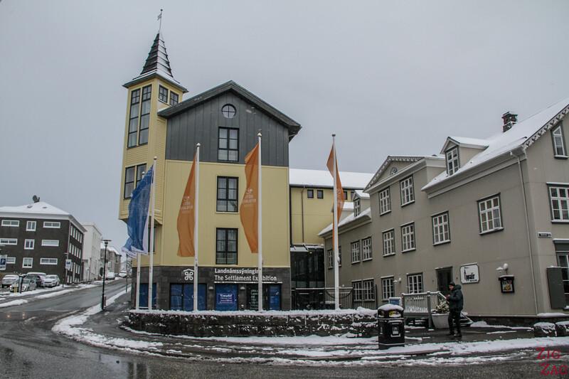 Reykjavik Musée - Settlement exhibition