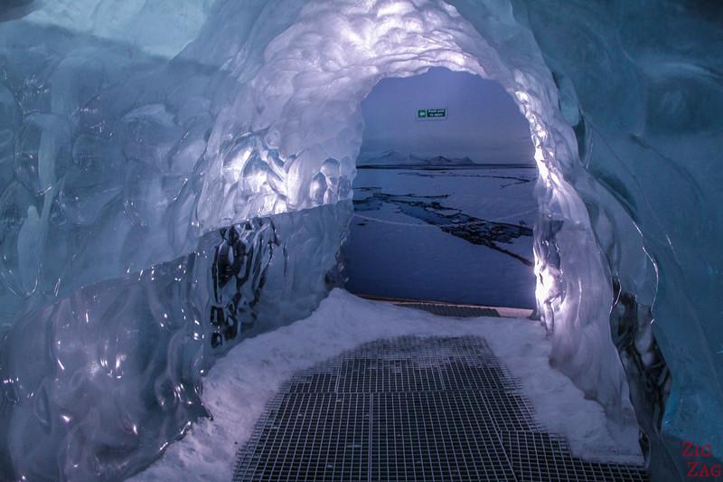 Der Perlan, Reykjavik - Eistunnel