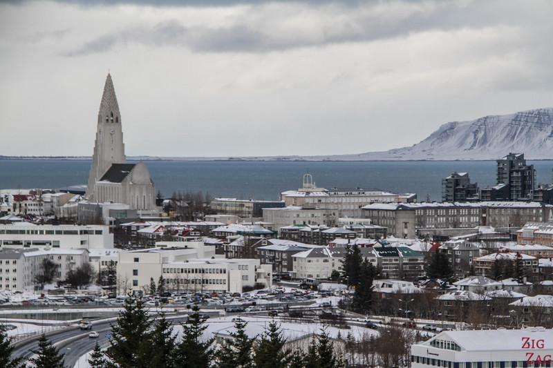 Le Perlan, Reykjavik - point de vue 2