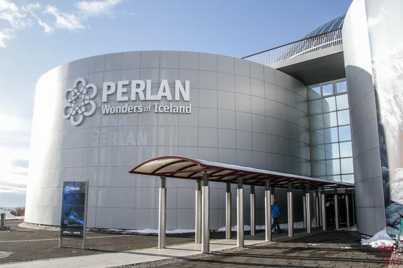 Le Perlan, Reykjavik - entrée