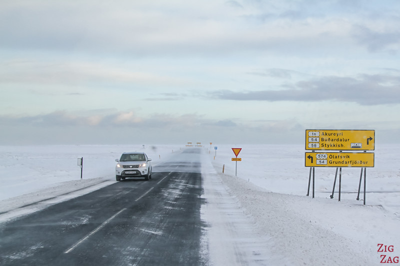 Road Signs Iceland