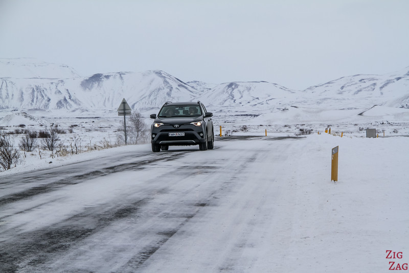 car rental in Iceland