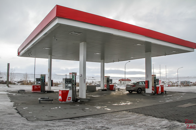 MANAGING FUEL ON AN ICELAND ROAD TRIP