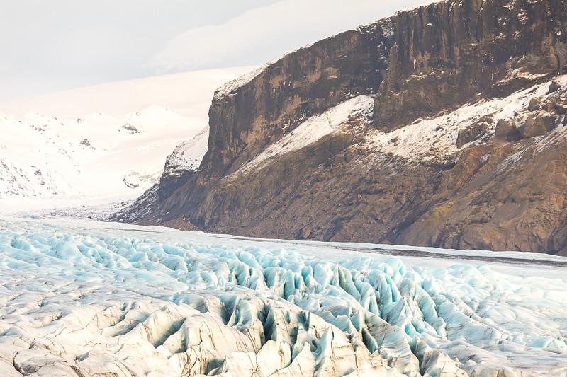 Marche sur le glacier Skaftafell (difficulté moyenne)