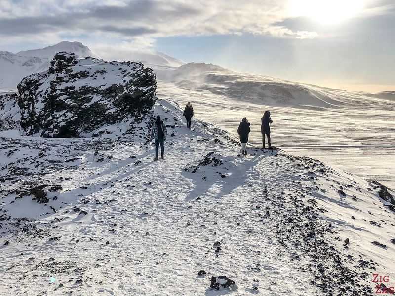 8 day Iceland Winter Tour group