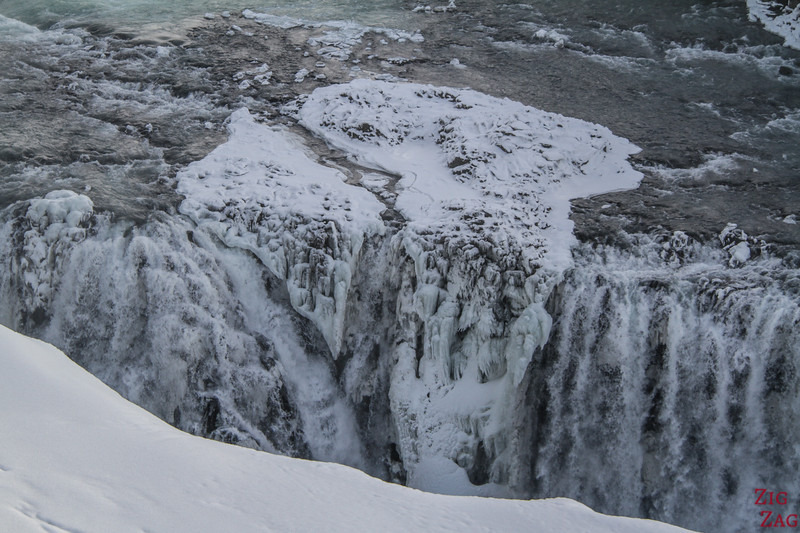 Gullfoss Winter - upper viewpoint 4
