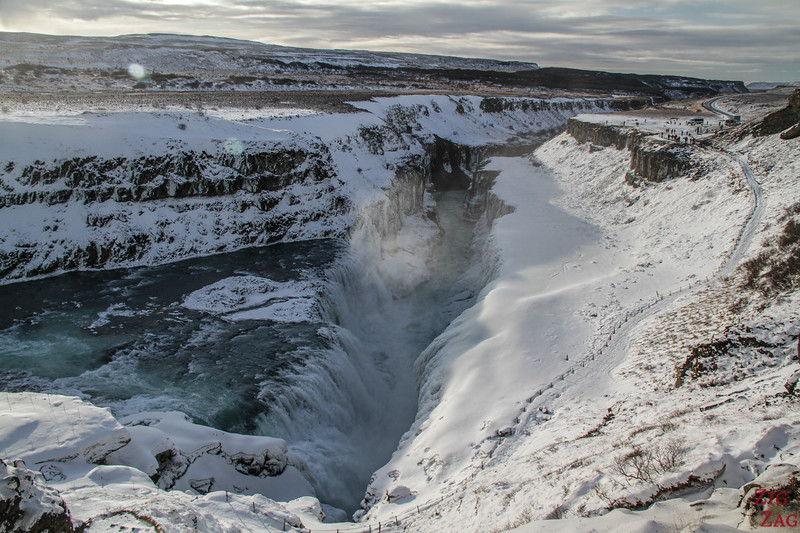 visit Gullfoss in Winter