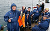 """Iceland, June 2014, Overseas Adventure Travel (OAT) trip.<br /> Departing from the fishing village of Dalvik we head out on a restored wooden fishing boat, the """"Draumur"""", for whale watching and fishing.  Only saw one whale but caught a lot of fish."""