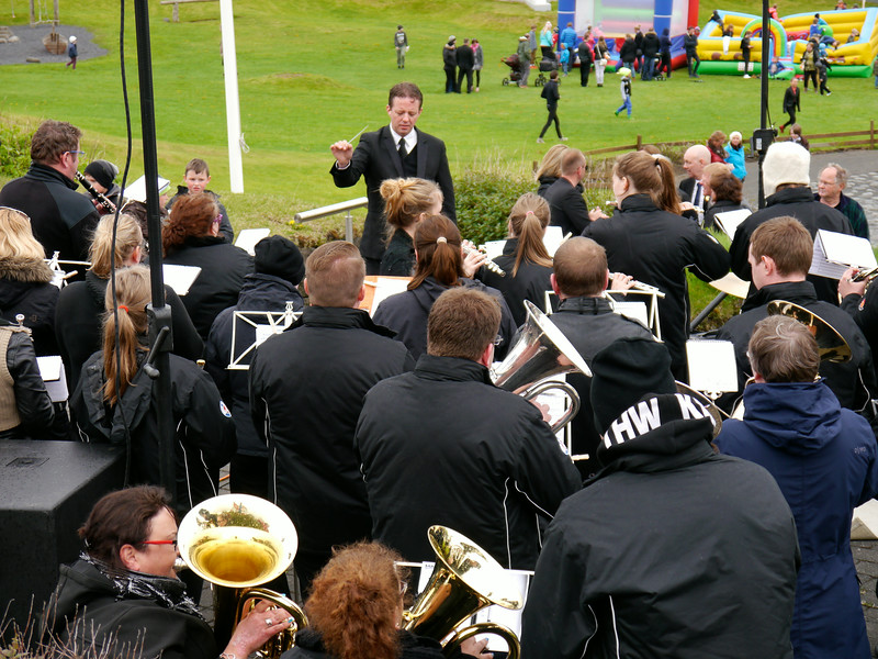 """Iceland (Westman Island), June 2014, Overseas Adventure Travel (OAT) trip.<br /> We were there for """"Sailors Day"""", actually the first weekend in June.  A day to honor Sailors(Fishermen) with entertainment, speeches, fun, etc.  The Park was just a few blocks from our hotel."""