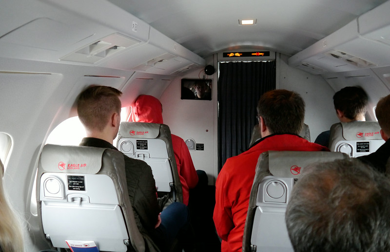 Iceland (Westman Island), June 2014, Overseas Adventure Travel (OAT) trip.<br /> The flight from Reykjavik to Westman Islands.