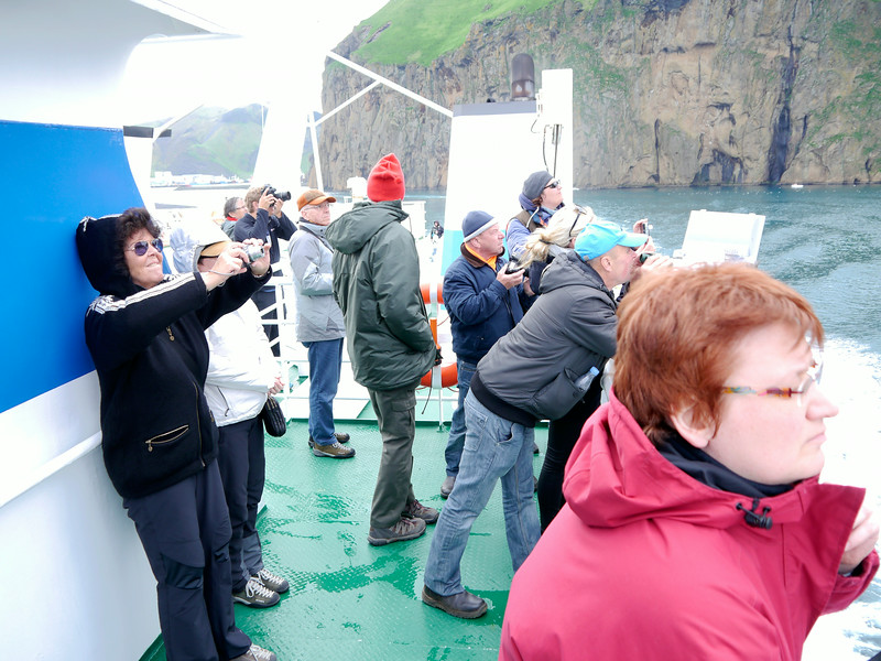 Iceland (Westman Island), June 2014, Overseas Adventure Travel (OAT) trip.<br /> We depart Westman Island via the Ferry back to the mainland.