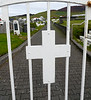 Iceland (Westman Island), June 2014, Overseas Adventure Travel (OAT) trip.<br /> Westman Island Cemetary entrance.