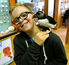 Iceland (Westman Island), June 2014, Overseas Adventure Travel (OAT) trip.<br /> The Natural History Museum. The owners son (he is 12) took charge of the puffin and answered our questions.