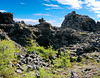 Iceland, June 2014, Overseas Adventure Travel (OAT) trip.<br /> Dimmuborgir (dark cities/forts) is a large area of unusually shaped lava fields east of Mývatn in Iceland.
