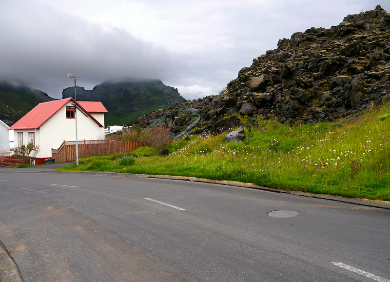 Iceland (Westman Island), June 2014, Overseas Adventure Travel (OAT) trip.<br /> Lava flow from the 1973 volcano eruption.