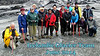 The glacier guide took this group picture with Mel's camera and Mel graciously provided it to me.  I added the text.