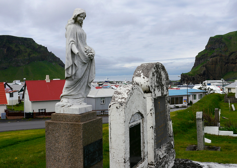 Iceland (Westman Island), June 2014, Overseas Adventure Travel (OAT) trip.<br /> We walked through the cemetery.