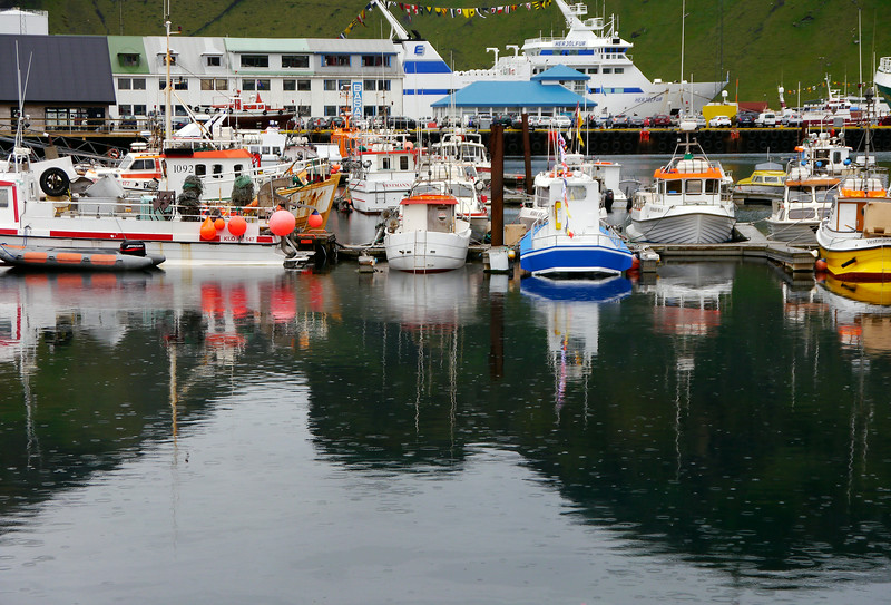 Iceland (Westman Island), June 2014, Overseas Adventure Travel (OAT) trip.<br /> Part of the harbor.