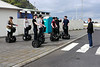 Iceland (Westman Island), June 2014, Overseas Adventure Travel (OAT) trip.<br /> Another group of kids go out on Segways.
