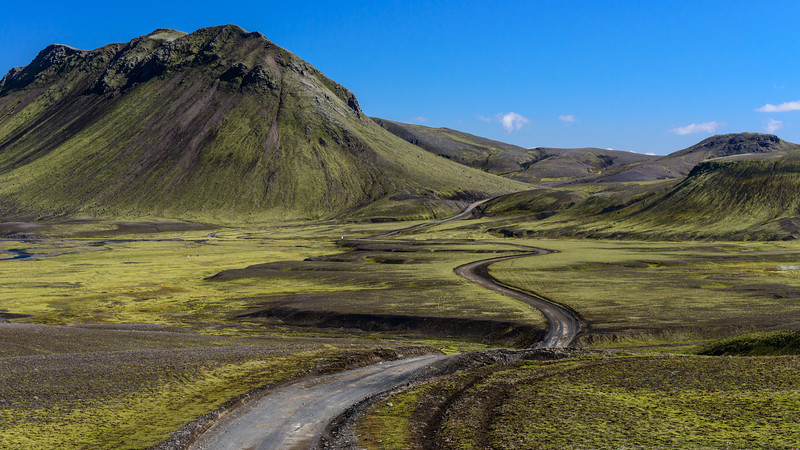 F208 road South of Landmannalaugar