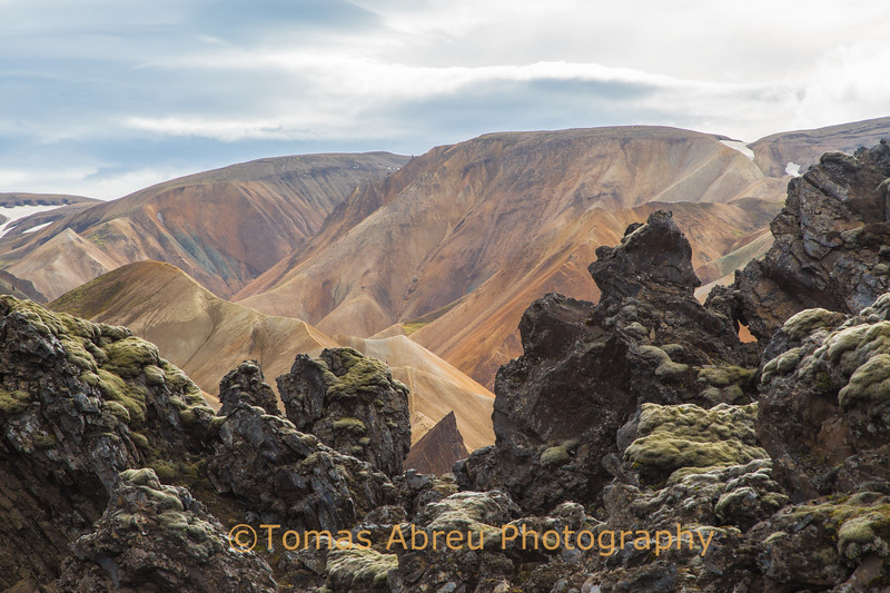 Landmannalaugar, signature landscape of the Highlands of Iceland