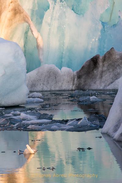 Icebergs at Jokulsarlon Ice Lagoon, Iceland